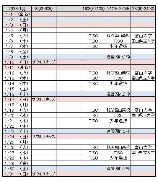 2016-1月リンク